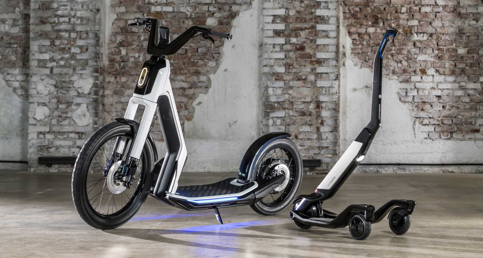 different types of personal electric vehicles