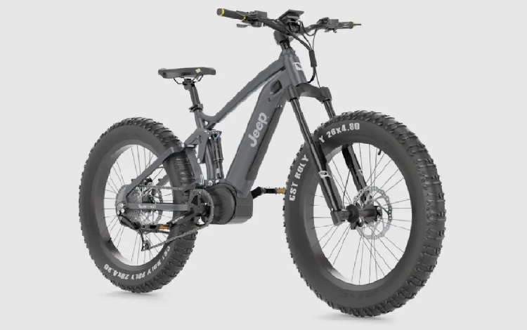 JEEP E-Bike Powered by QuietKat Review