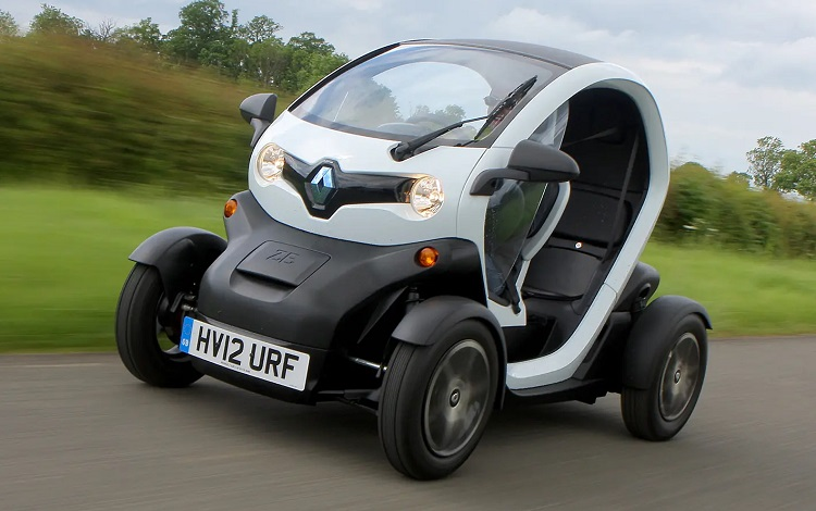 Electric Renault Twizy