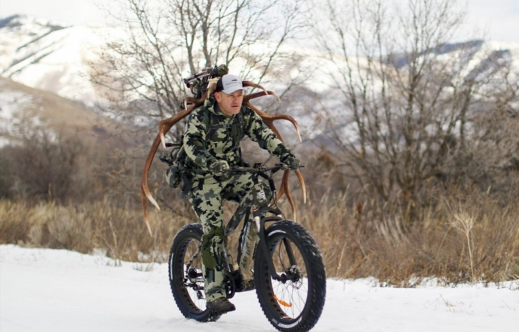 features of electric hunting bike
