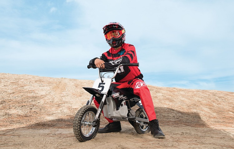 What age is a 110cc dirt bike for?